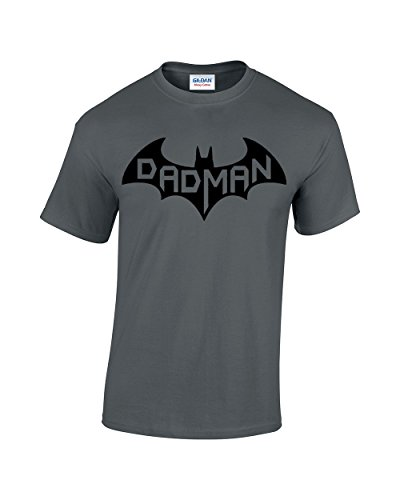Crazy Bro's Tees Dadman - Super Dadman Bat Hero Funny Premium Men's T-Shirt