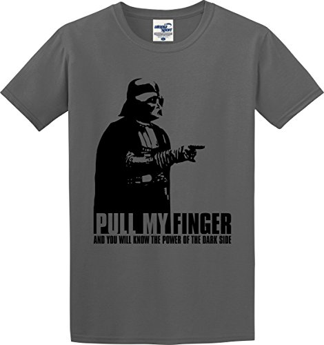 Darth Vader T-shirt Pull My Finger and You Will Know the Power of the Dark Side (S-5X)