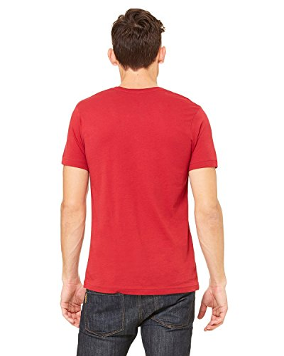 Bella + Canvas Unisex Jersey Short-Sleeve T-Shirt, CANVAS RED