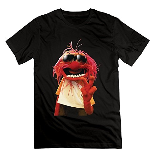Men's Love Muppets Jumbo Animal Cartoon Logo T-shirt -White