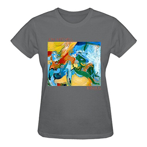 Abover Joni Mitchell Mingus Vintage T Shirts For Women O Neck