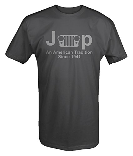 Jeep Classic Grill Wrangler American Tradition Since 1941 T Shirt