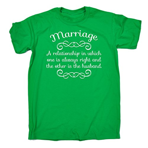 123t Men's Marriage A Relationship Other Is the Husband T-SHIRT Funny Christmas Casual Birthday Tee