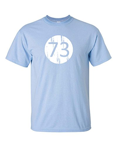 Jacted Up Tees Big Bang Theory 73 Men's T-Shirt SHIPS FROM OHIO USA