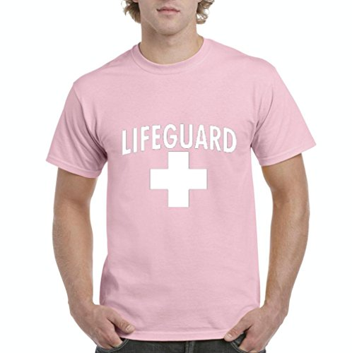 Artix Lifeguard in White Men's T-Shirt Tee