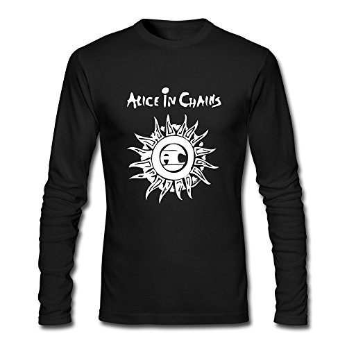 RUIFENG Men's Alice In Chains Long Sleeve T-shirt