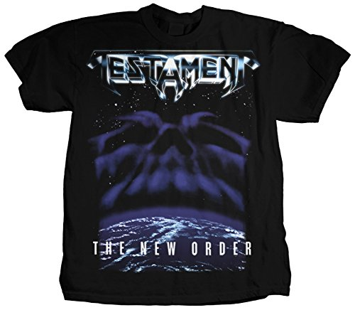 Testament Men's The New Order T-shirt Black