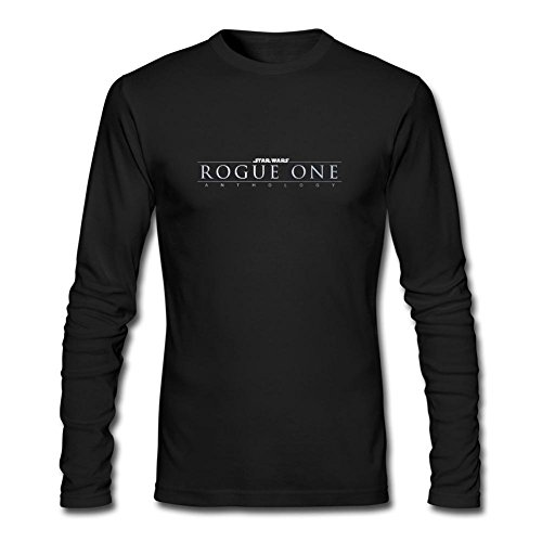 JUXING Men's Rogue One A Star Wars Story Film Rogue One 2016 Long Sleeve T-shirt