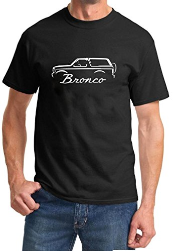 1992-96 Ford Bronco Classic Outline Design Tshirt
