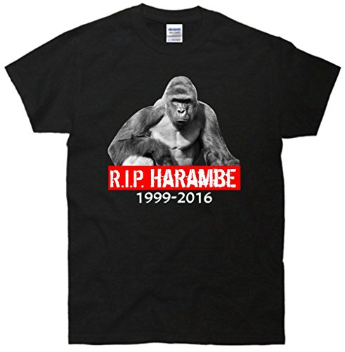 RIP Harambe Rest In Peace Gorilla R.I.P. Tribute T-Shirt