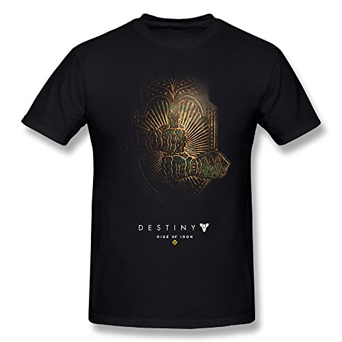 TEE-Men's Destiny Rise Of Iron Game Tshirt Shirt.