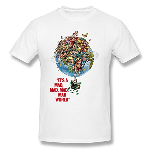 Men's It's A Mad Mad Mad Mad World Movie T-shirt