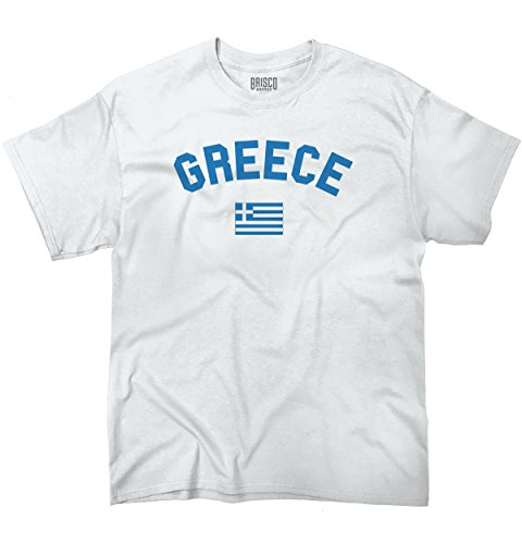 Greece Flag World Cup Soccer Greek National Flag Pride T-Shirt