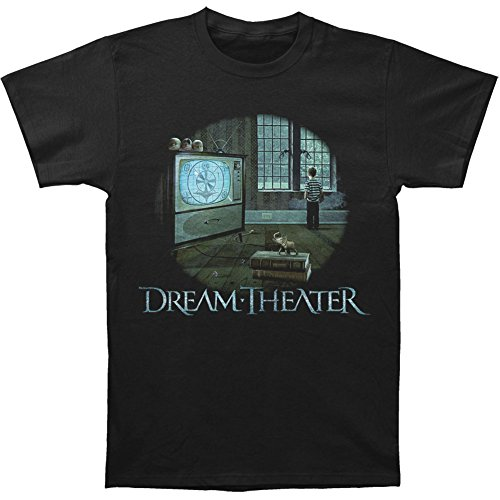 Dream Theater Men's Television Slim Fit T-shirt Black
