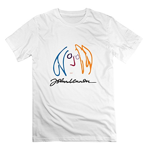 CBOAA John Lennon Men's T-shirt,White
