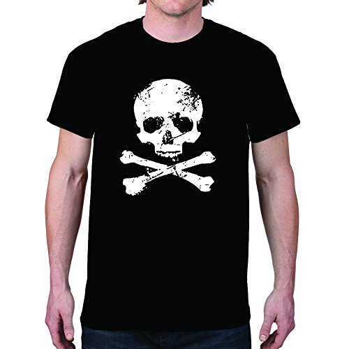Men's Skull Black T-Shirt