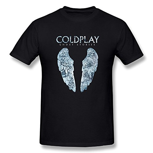 SEagleo Men's A Broken Heart Coldplay Ghost Stories Tees