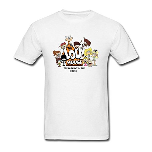 JuDian The Loud House Group T Shirt For Men