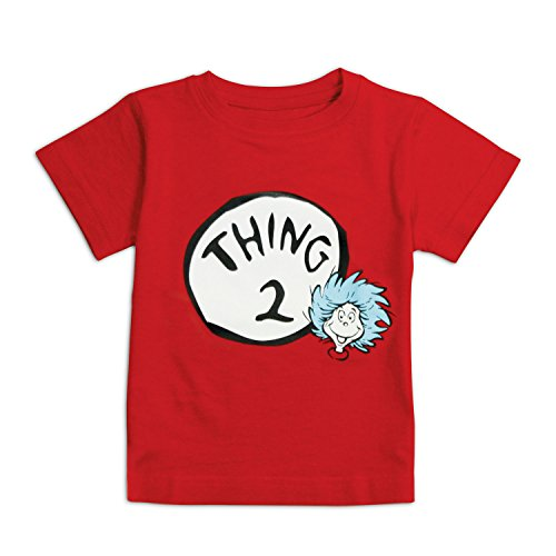 Bumkins Unisex Baby Dr. Seuss Thing 2 Short Sleeve Tee