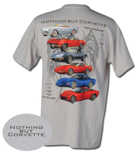 Nothing But Corvette Chevrolet Adult T-Shirt