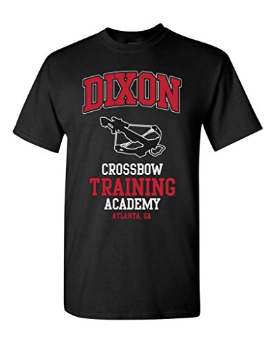 Dixon Crossbow Training Academy Funny Parody Adult DT T-Shirt Tee