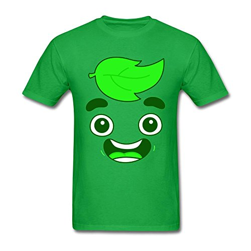 XingL Men's Guava Juice Youtuber Cute Head Design T Shirt