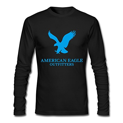 American Eagle Outfitters T-shirt Black For Men Cotton
