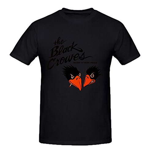Black Crowes Kicking My Heart Funny Soft O Tee Shirts For Mens