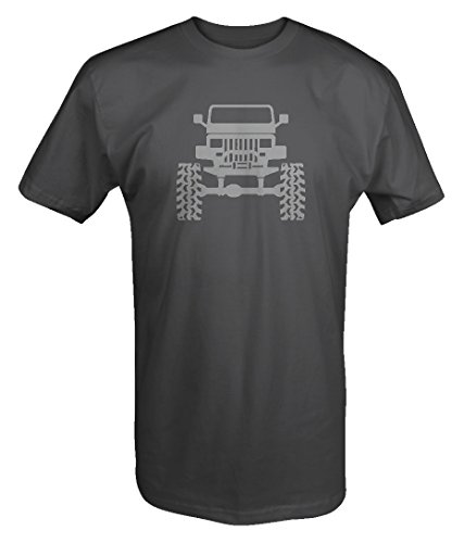 Jeep Lifted Wrangler YJ Square Lights Offroad T Shirt