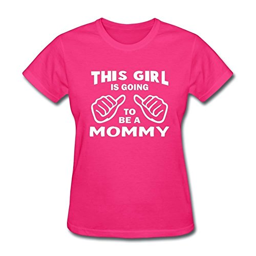 Shop4Ever® This Girl is Gonna Be a Mommy Women's T-Shirt New Mom Shirts