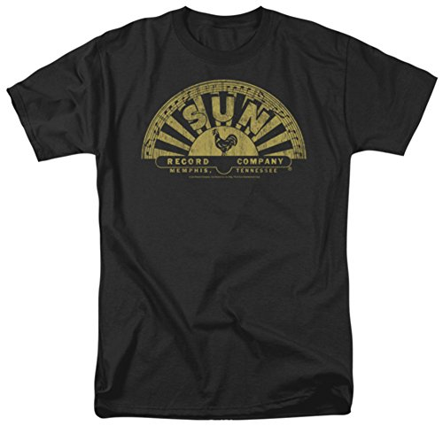 Sun Record - Tattered Logo - Adult T-Shirt