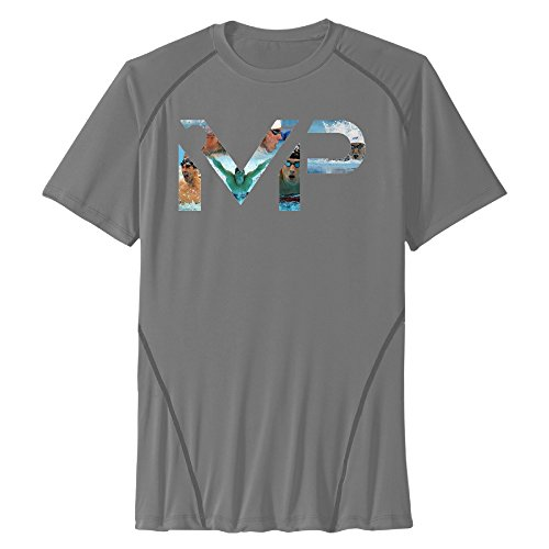 Mans Michael Phelps Dry Compression Performance T Shirt - Vintage Custom Tshirt