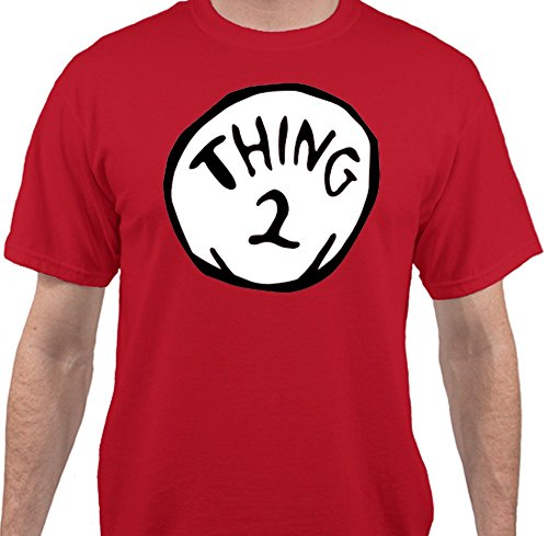 Sweet Tees™ Thing 2 Dr. Seuss Funny Cat In The Hat Halloween Costume T-Shirt