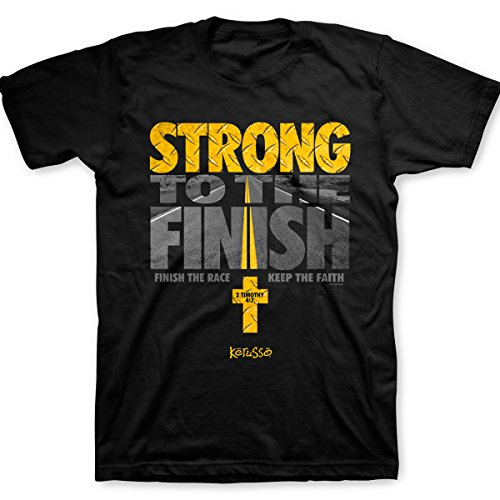 Kerusso Strong to the Finish Christian SS T-shirt