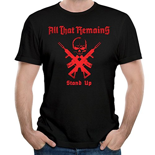 All That Remains Band Stand Up Skull Unique Men's Tshirt