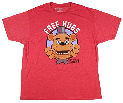 Five Nights at Freddy's Free Hugs Freddy Fazbear Graphic T-Shirt