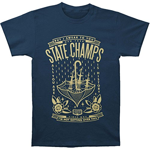 State Champs Men's Sinking Ship T-shirt Navy