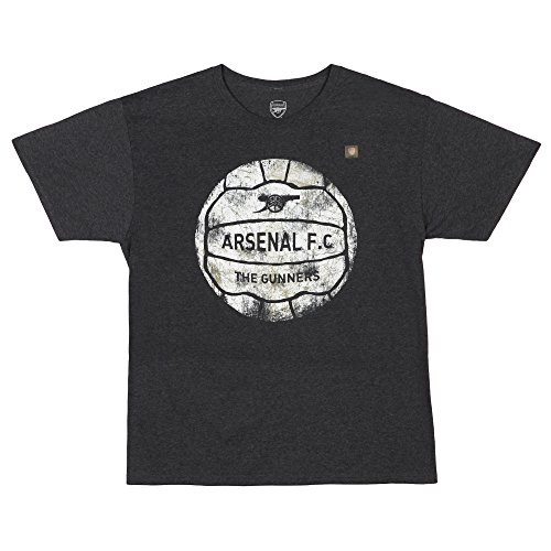 Arsenal Football Club Vintage T-shirt - Charcoal Heather