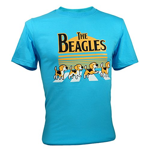 Immortal Tee Adult Unisex The Beatles Beagles Funny T-Shirts