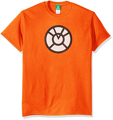 DC Comics Men's Green Lantern Agent Orange T-Shirt