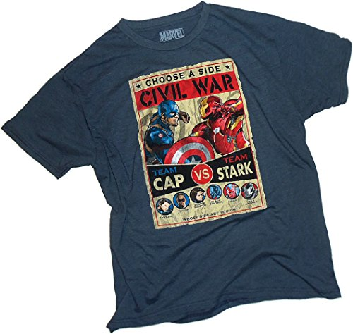Culmination Fight Poster -- Captain America: Civil War Adult T-Shirt