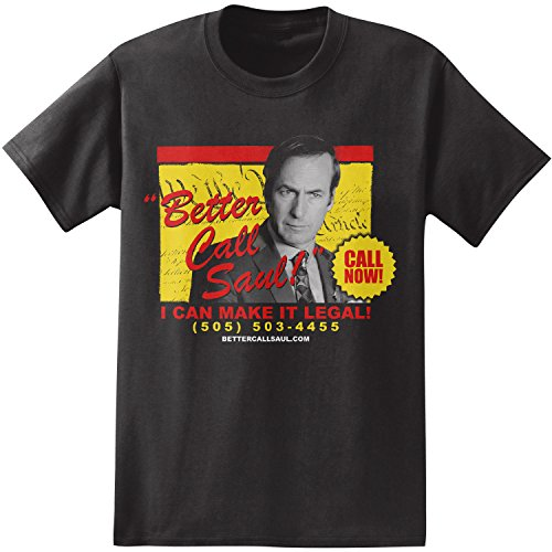 Better Call Saul Call Now Ad Adult T-Shirt