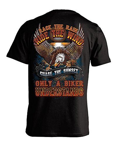 Race The Rain, Ride The Wind, Chase the Sunset T-shirt