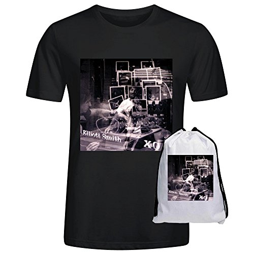 Heeloo Men's Elliott Smith XO Personalized Big T Shirt