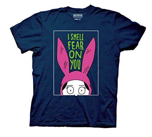 Bob's Burgers Louise I Smell The Fear On You Mens T-Shirt