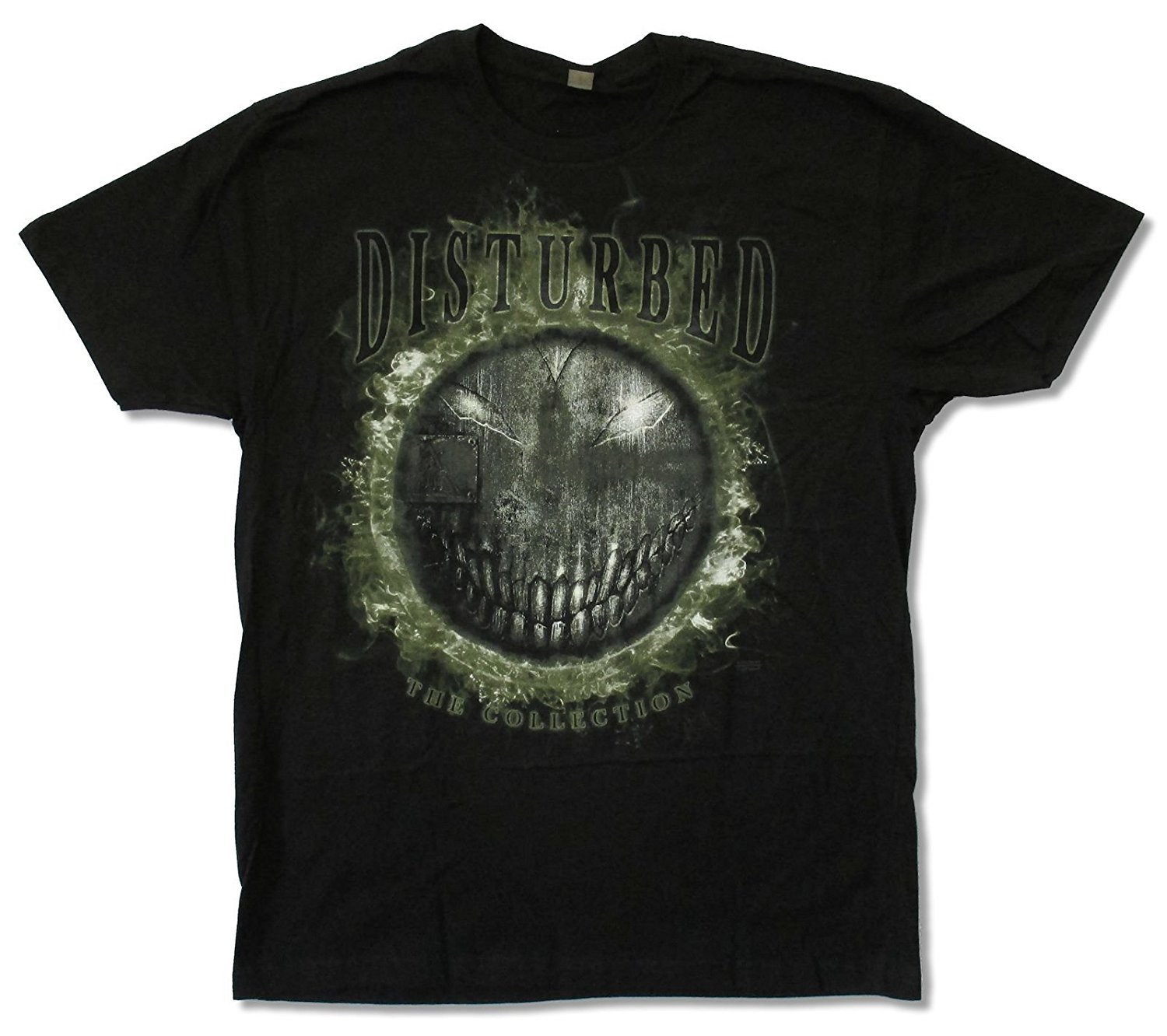 "Adult Disturbed ""All Smiles"" Black T-shirt"