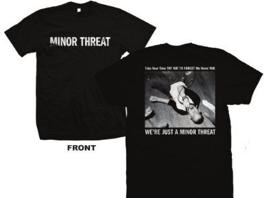 Threat Just A... T-Shirt (Large)