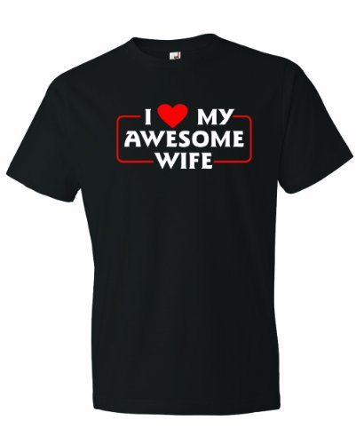 Love My Awesome Wife Family Husband T-Shirt