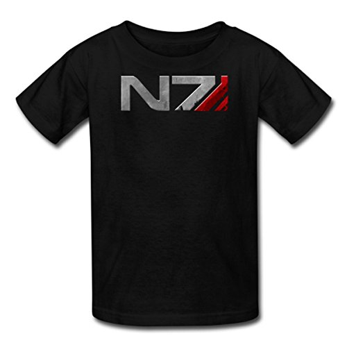 Custom Mass Effect Cotton Tshirt Black
