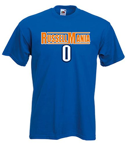City Thunder Russell Westbrook Russellmania T-Shirt